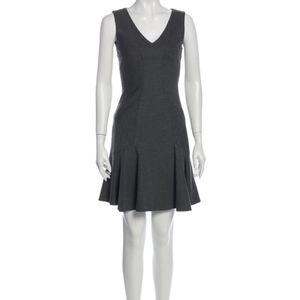 Diane von Furstenberg V-Neck Mini Dress